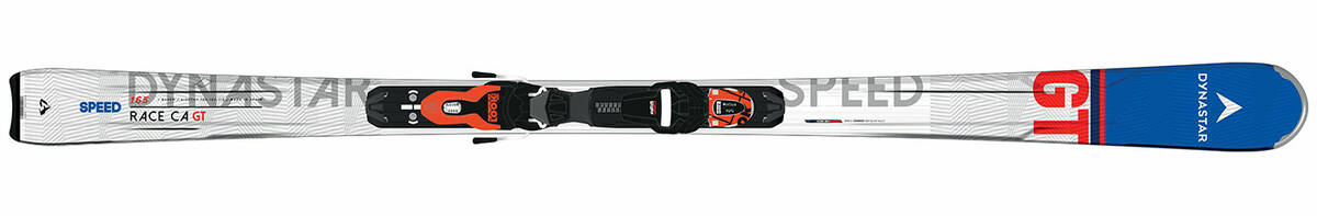 Skis noirs homme
