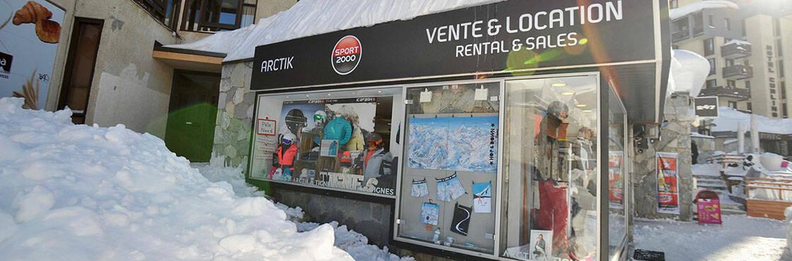 Location ski Tignes Val Claret Sport 2000 Arctik