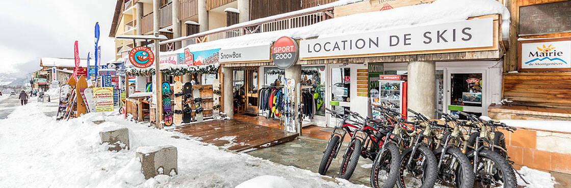 La station de ski Montgenevre