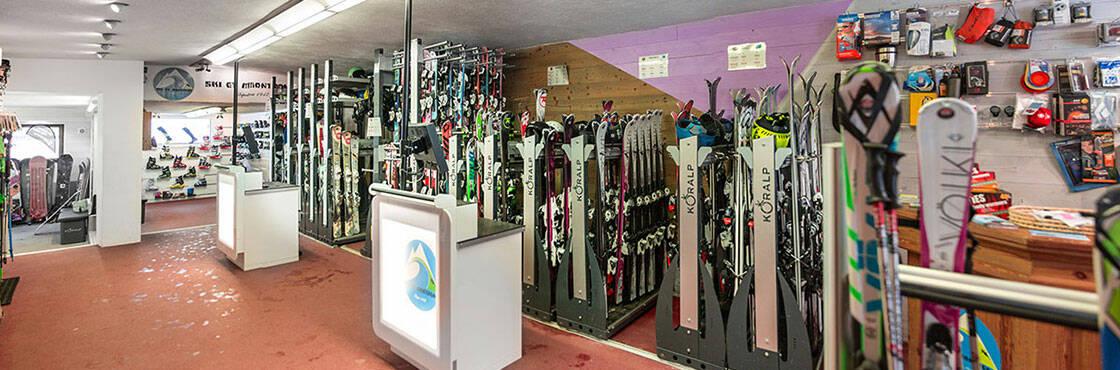 Bienvenue chez Sport 2000 Rolland Sport, spécialiste de la location de ski à Pralognan la Vanoise