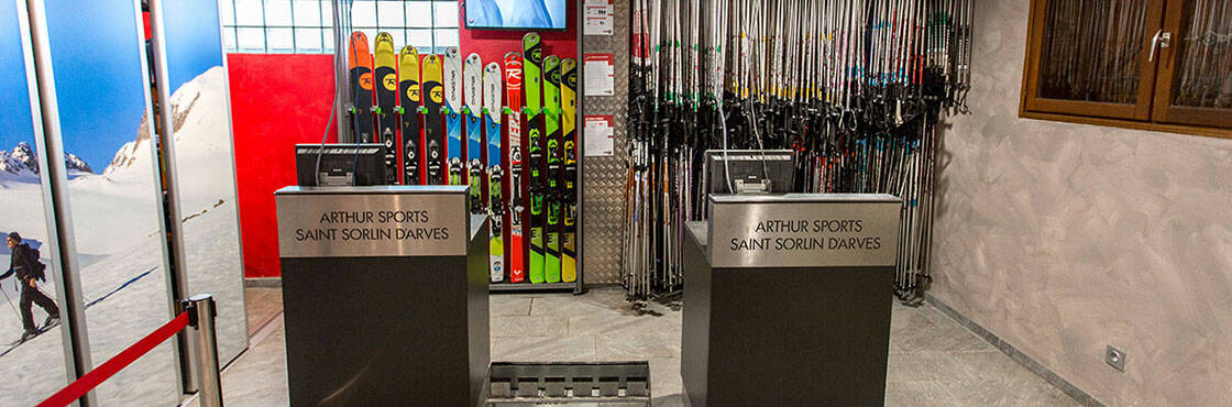 SPORT 2000 ARTHUR SPORTS, SPÉCIALISTE DE LA LOCATION SKI À SAINT SORLIN D'ARVES