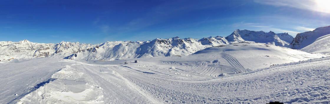 La station de ski de Val d'Isère