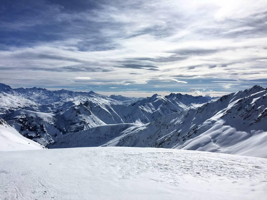 La station de ski de Valmorel