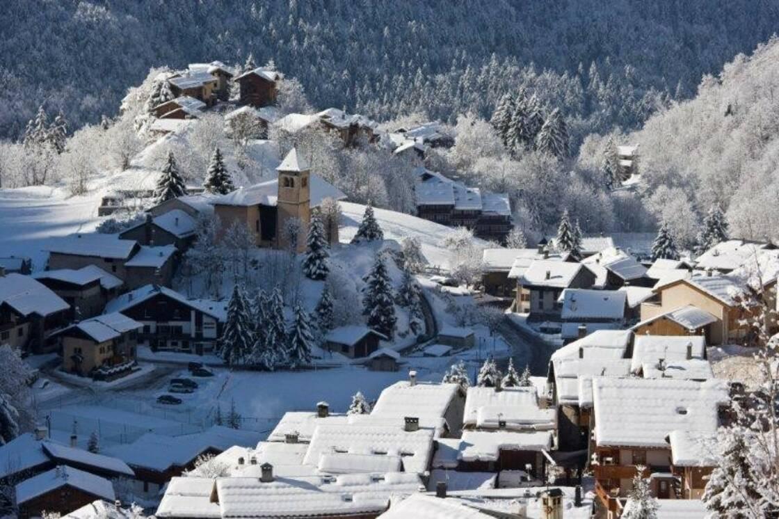 Champagny en Vanoise, la station de ski