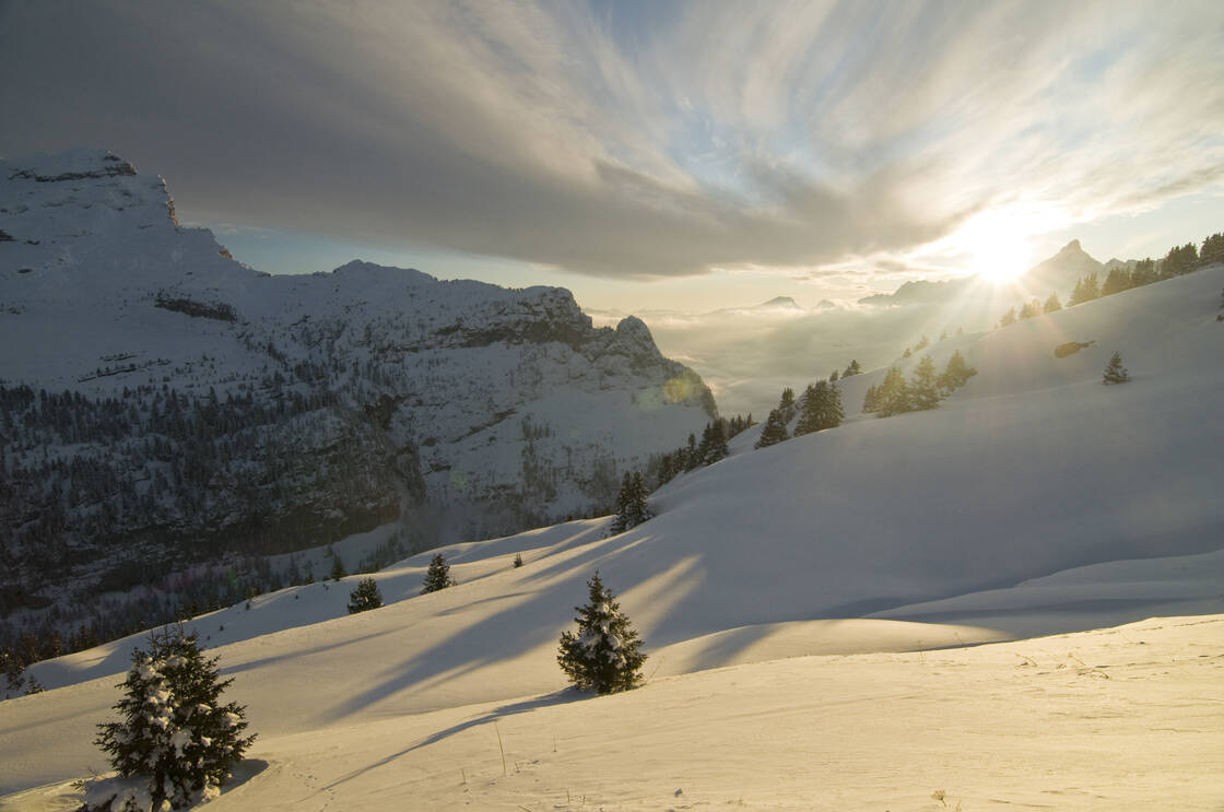 La station de ski de Flaine