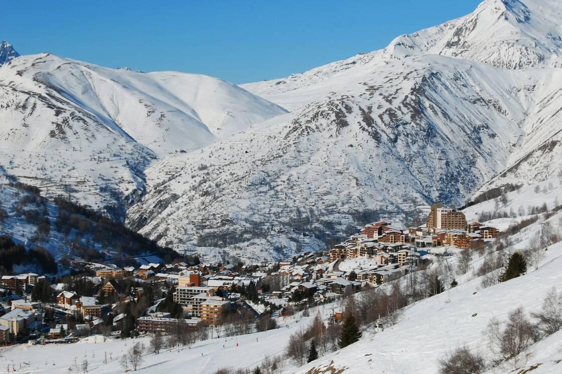La station de ski Les Deux Alpes