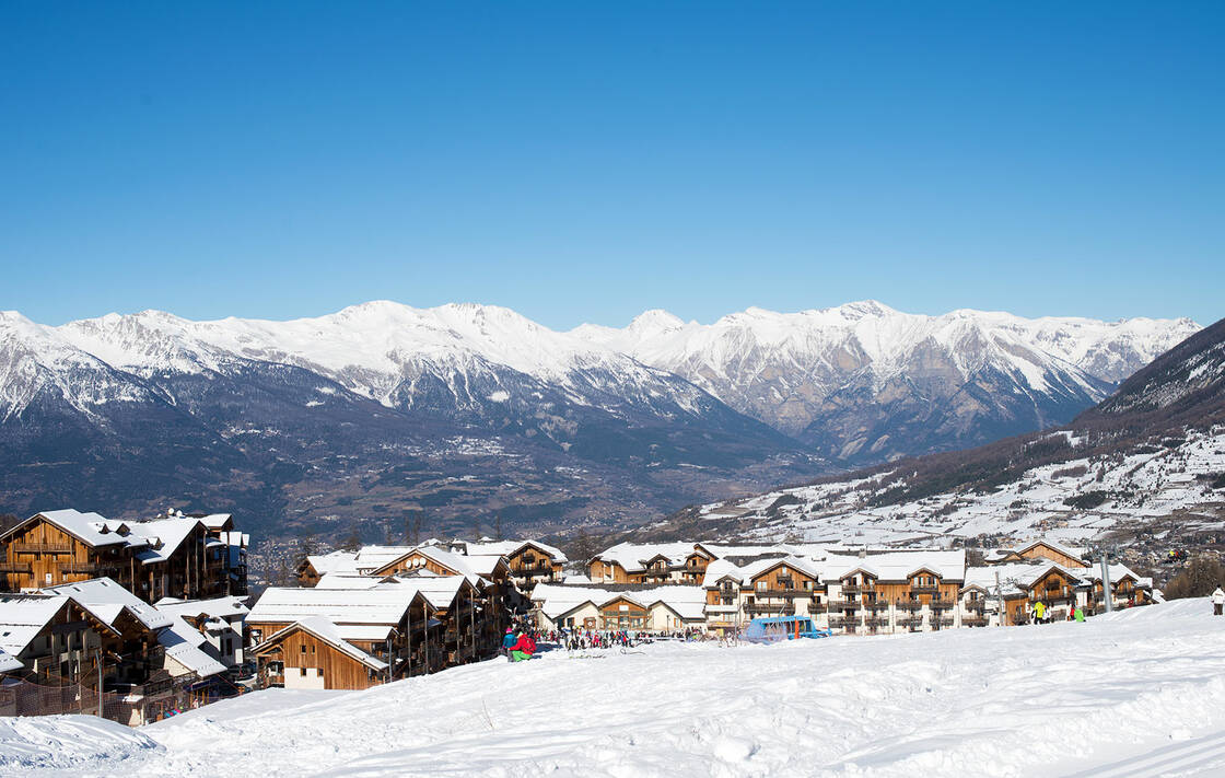 La station de ski des Orres