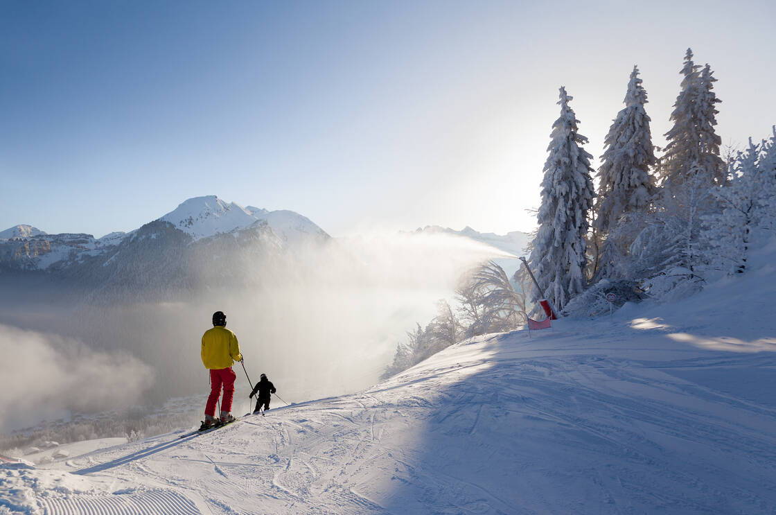 La station de ski de Montriond-Morzine
