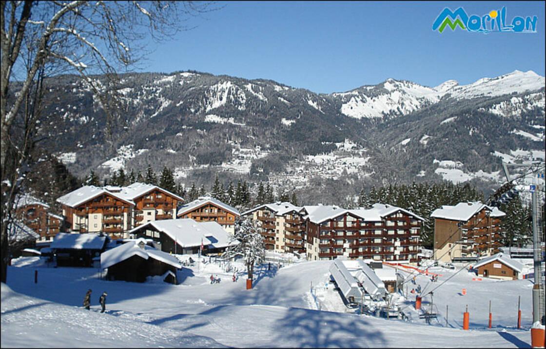 La station de ski de Morillon 1100