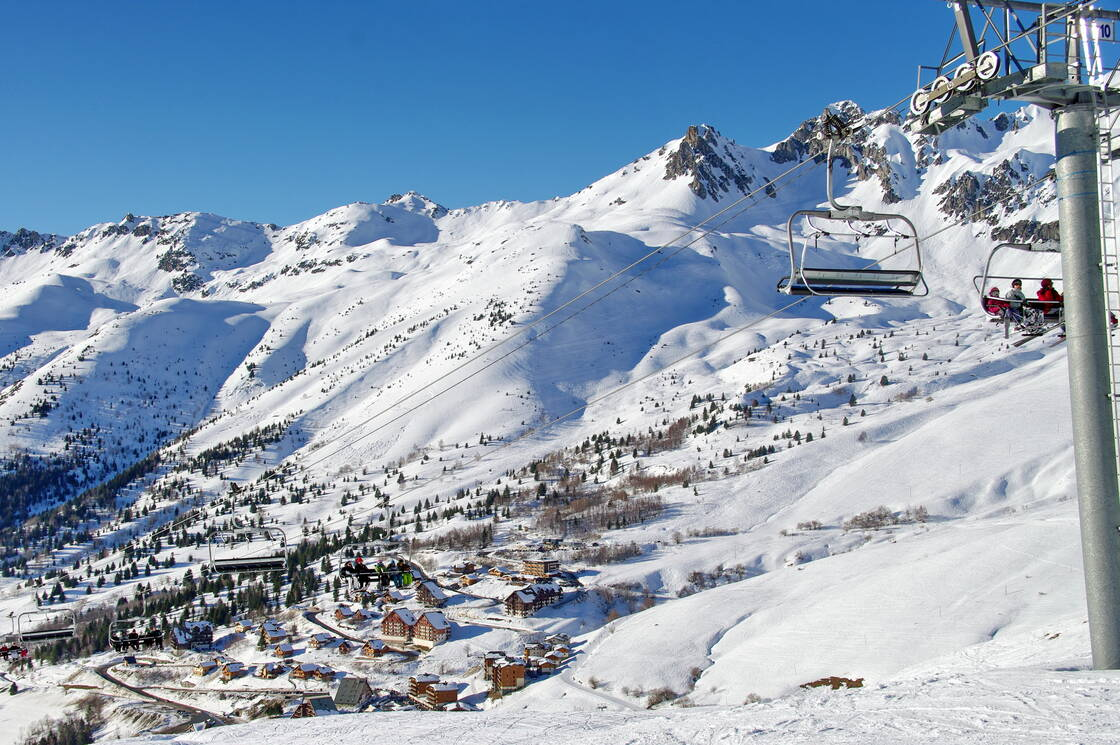 Station de ski Saint François Longchamp