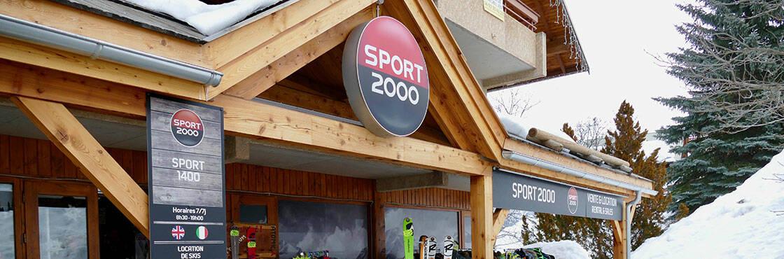 magasins de ski SPORT 2000 Puy St Vincent