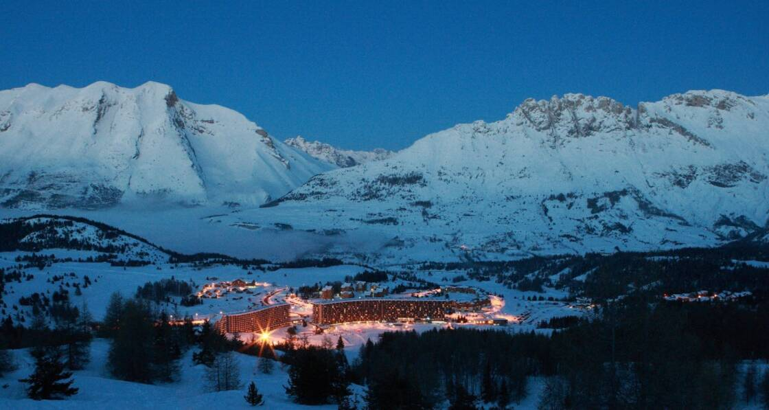 La station de ski de Superdevoluy