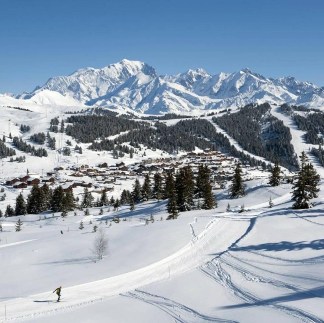 La station de ski Les Saisies
