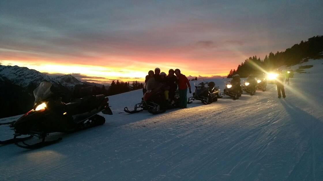 Nos activités après ski motoneige