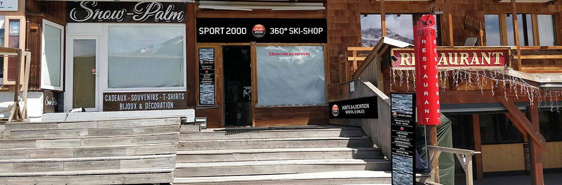 Location ski Avoriaz Sport 2000 360 Skishop