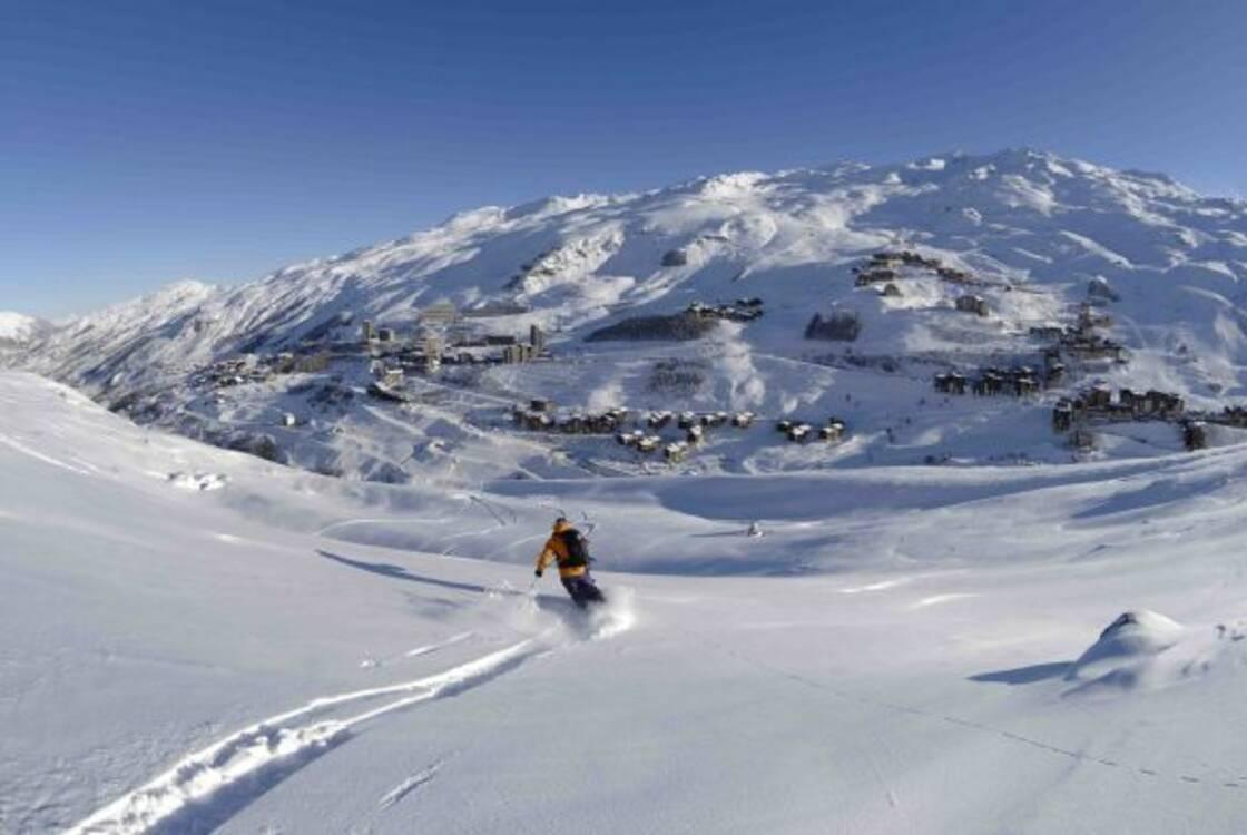 location ski les Ménuires Bruyères