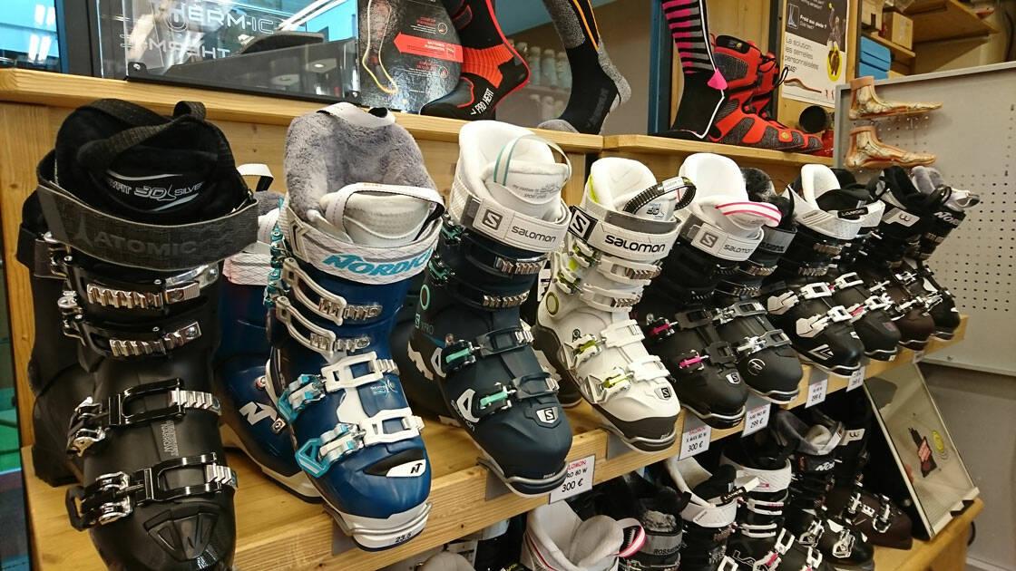 Chaussures de ski femme val thorens