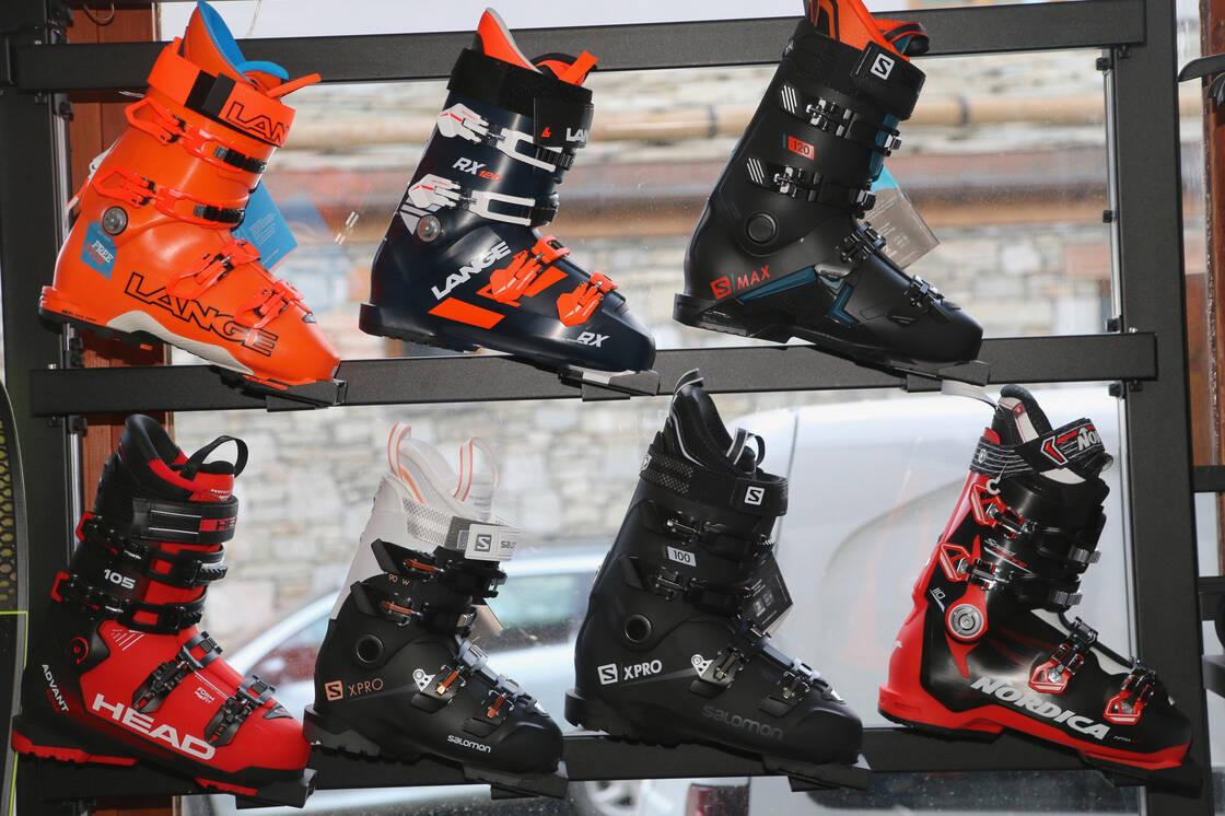 Chaussure de ski location vente chez Iseran Sport Val d'Isère
