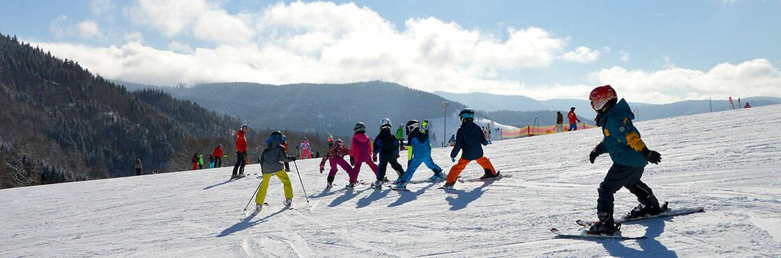 apprendre le ski à Avoriaz