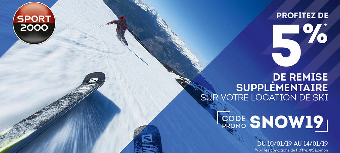 code snow19 reduction sport 2000