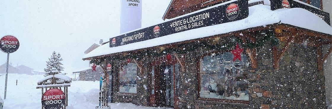 Bienvenue chez Nagano Sport - Sport 2000 Valloire