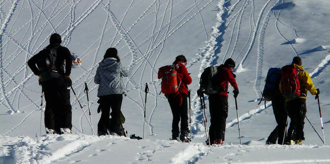 groupe ski hors piste