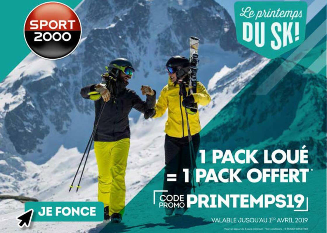 promotion pack ski snowboard location en ligne