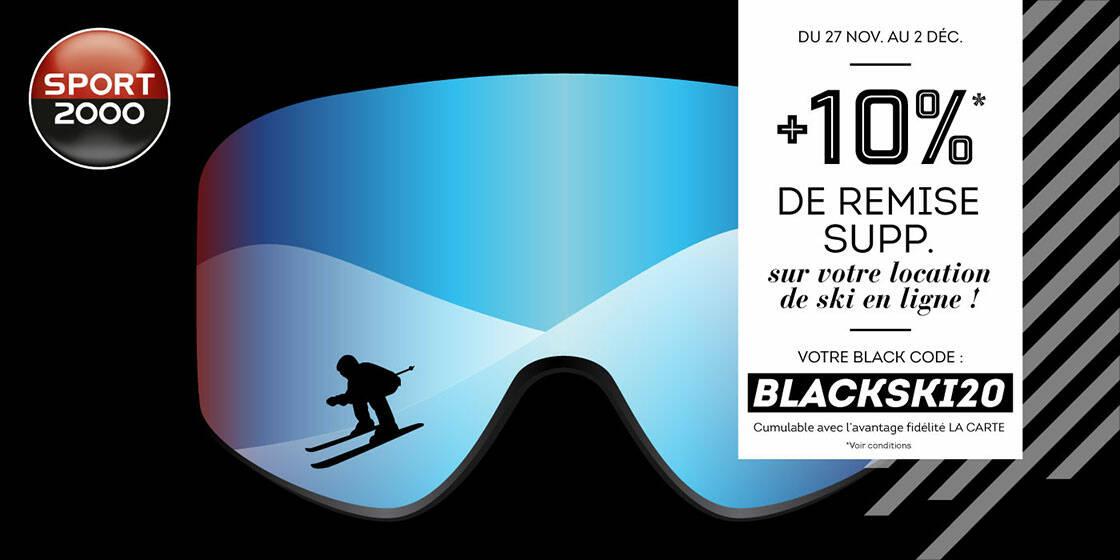 réduction location de ski sport 2000 black friday