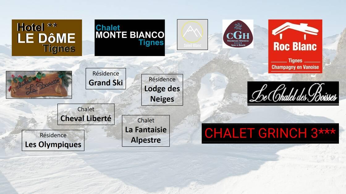 Les partenaires de Sport 2000 Alpes Glisses