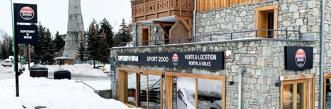 Location ski Les 2 Alpes Sport 2000 Les 2 Skis
