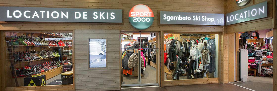 Louez vos vélos à Chamrousse chez Sport 2000 Sgambato Ski Shop