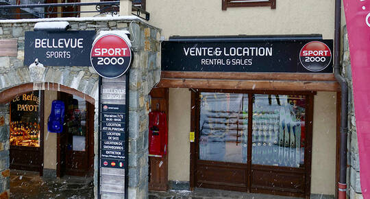 Sport 2000 Bellevue Sports, LES HOUCHES