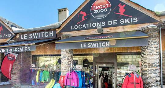 Sport 2000 Le Switch, LES ANGLES