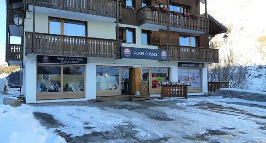 Sport 2000 Alpes Glisses, TIGNES 1800 LES BOISSES