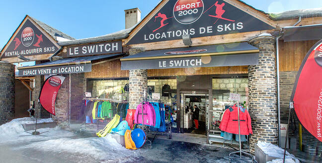 Vitrine Sport 2000 Le Switch Les Angles