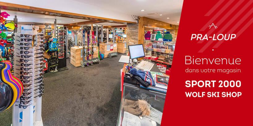 Magasin Sport 2000 Wolf Ski Shop Pra-Loup Intérieur