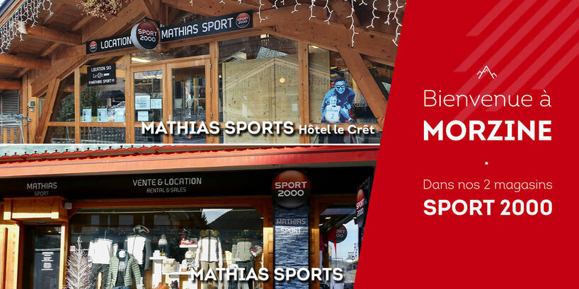 Magasin Sport 2000 Mathias Sports 2 mags