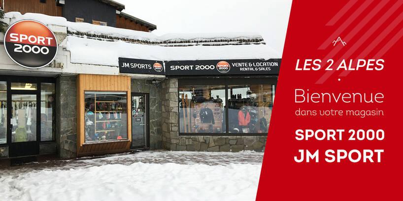 Jean Sport - les deux alpes 1800 - location ski - location- sport 2000