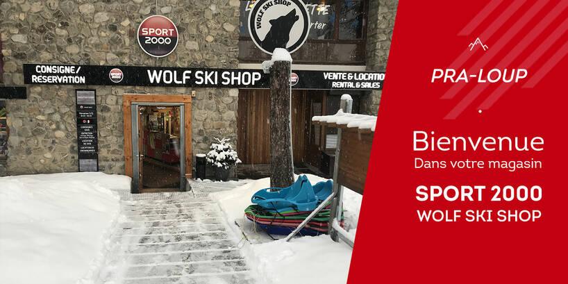 Magasin Sport 2000 Wolf Ski Shop Pra-Loup Extérieur