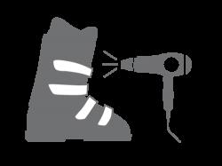 Service séchage de chaussures