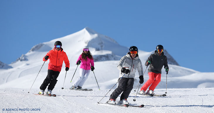 Location ski alpin