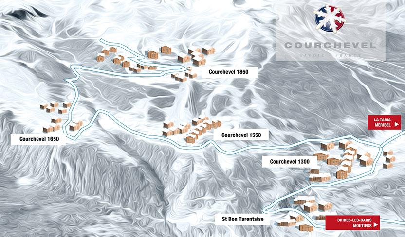 Location ski courchevel hiver 2018 2019 avec sport 2000 skier malin skier moins cher - Courchevel 1650 office du tourisme ...